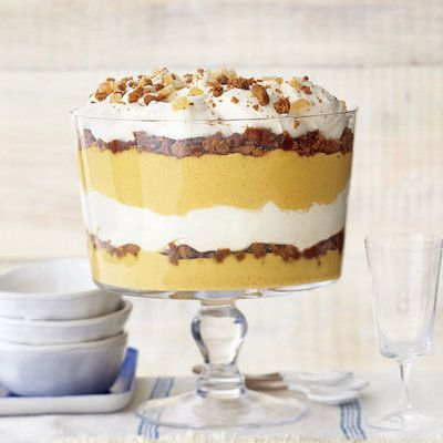 Ginger-Pumpkin Trifle with Vanilla Mascarpone Cream | Coastalliving.com