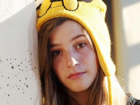 Taradale teenager Julia Seaward is taking a strong stance against bullying.