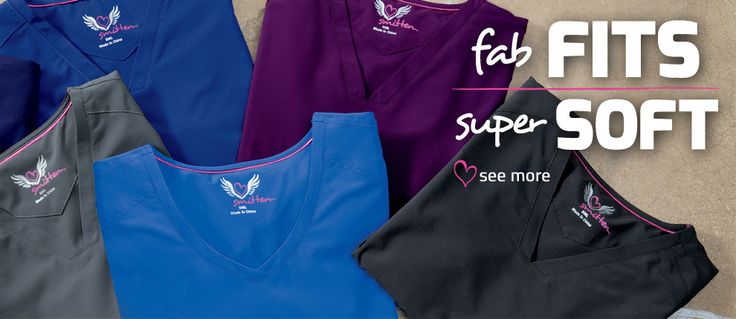From our Heavenly and Forgive to our Miracle fabrics, Smitten scrubs are equipped with the stretch, softness and durability you need. #SmittenScrubs @Smitten Scrubs #nursing #nurses #studentnurse #healthcare #uniforms #scrubs #Rocknroll #Fashion #Style #Purple #Eggplant #Fall