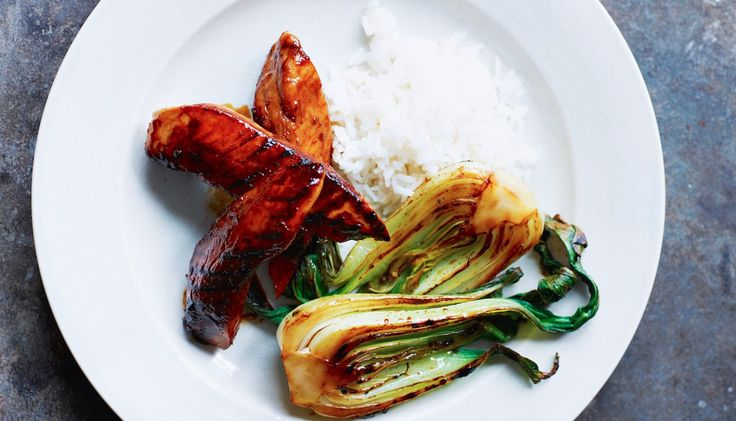Quick Dinner: Grilled Miso Chicken With Bok Choy