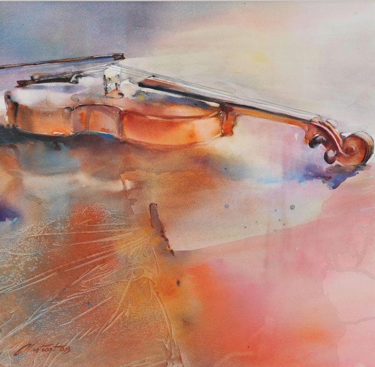 95 best Art aquarelle Marie Line Montecot images on Pinterest ...