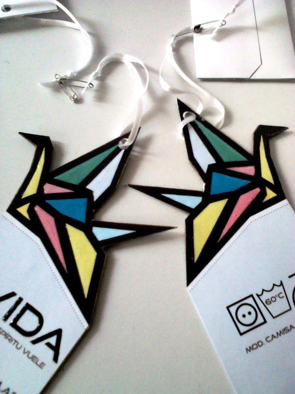 Ávida// Clothes packaging by Florencia Luz Duarte, via Behance