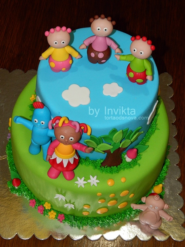 1000 images about in the night garden cake ideas on for In the night garden cakes designs