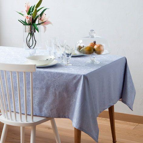 Mantel Plastificado Jacquard Color Azul - Manteles y Servilletas - Mesa | Zara Home España