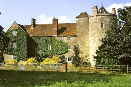 Somerton Castle, Boothby Graffoe, Lincolnshire in 1973