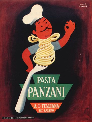 1952 - Panzani - Hervé Morvan