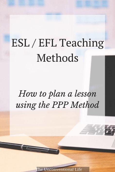 English Teaching Methods - PPP Lesson Plan | Eğitim
