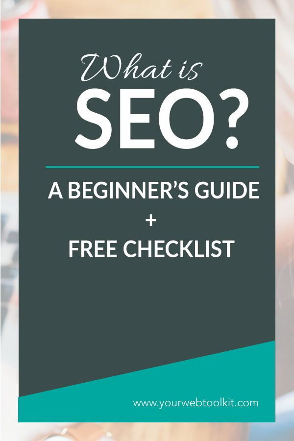 What is SEO? ** INCLUDES FREE CHECKLIST ** This beginner's guide to SEO breaks down the main SEO strategies you need to be aware of to get organic traffic to your Wordpress website.