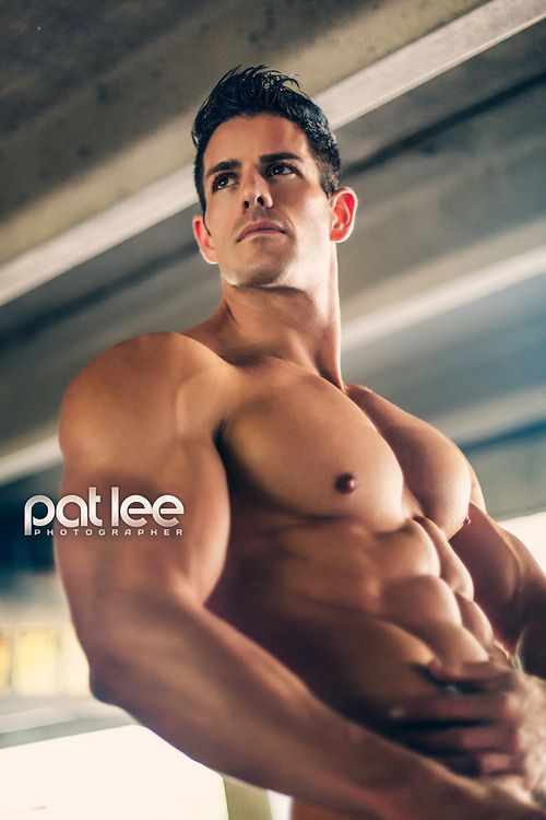 ERIC TURNER male fitness model © PAT LEE patlee.net # pecs six pack abs hunk men nice arms bare chest hot guy body  shirtless adonis musculoso eye candy bodybuilder