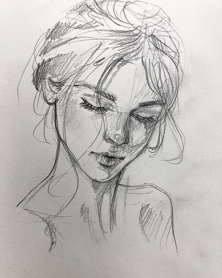 Dernière esquisse aujourd'hui ✍🏻 Ce doodle de 10 minutes me décrit si…