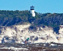 Little Cumberland Island Light as seen from Jekyll Island
