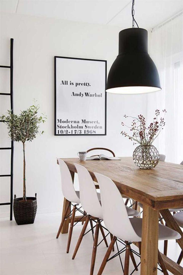 77 gorgeous examples of scandinavian interior design - Dining Table Design Ideas