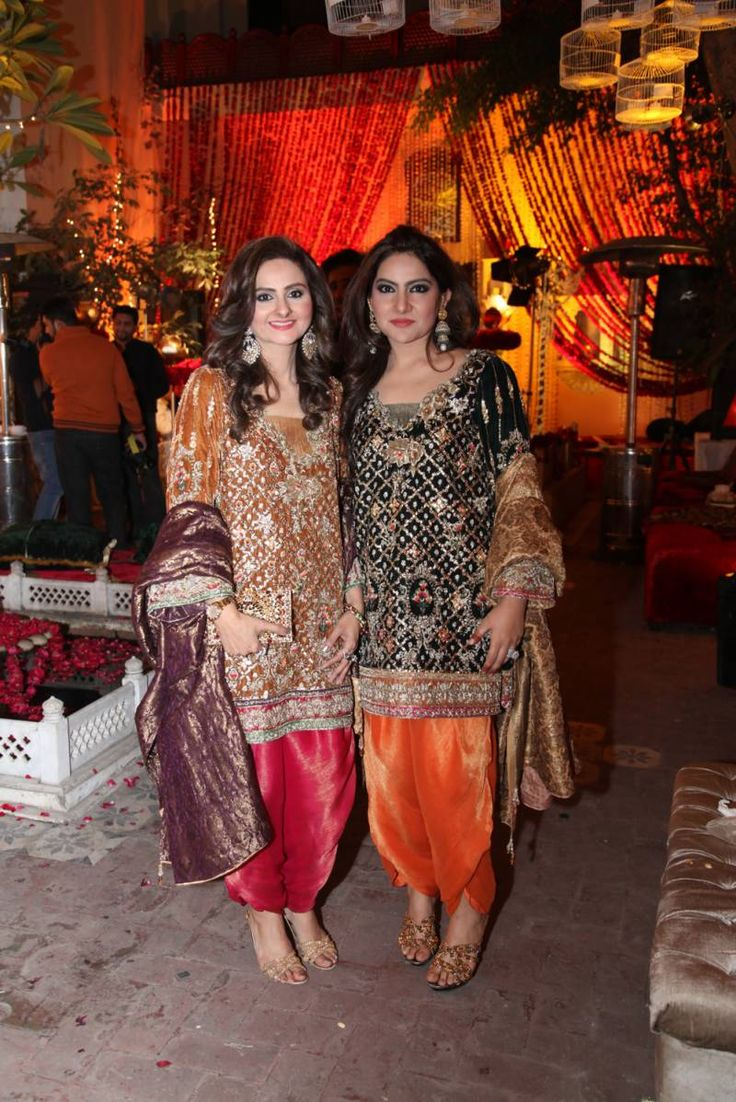 Sehar Asher and Nazia