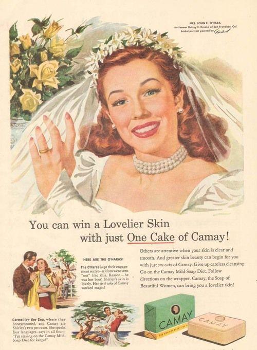 1940's Camay Soap ad
