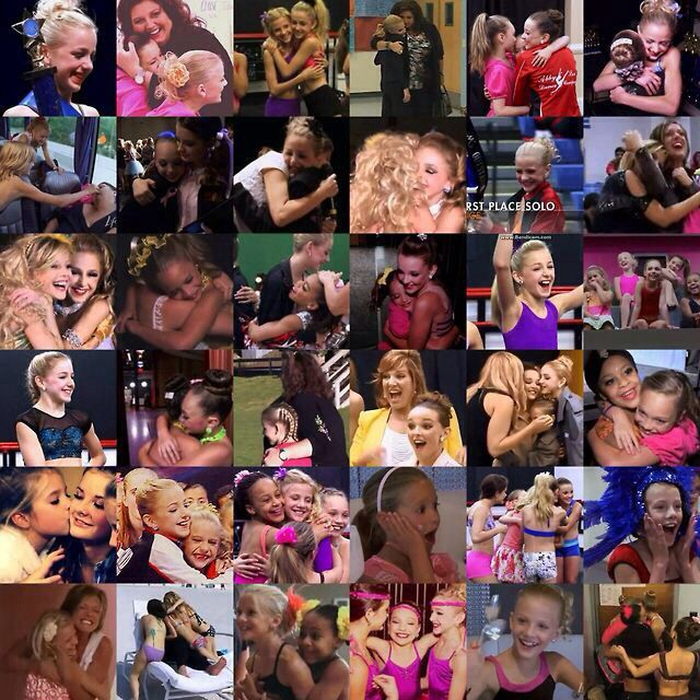 A collection of some of the happy moments on Dance Moms