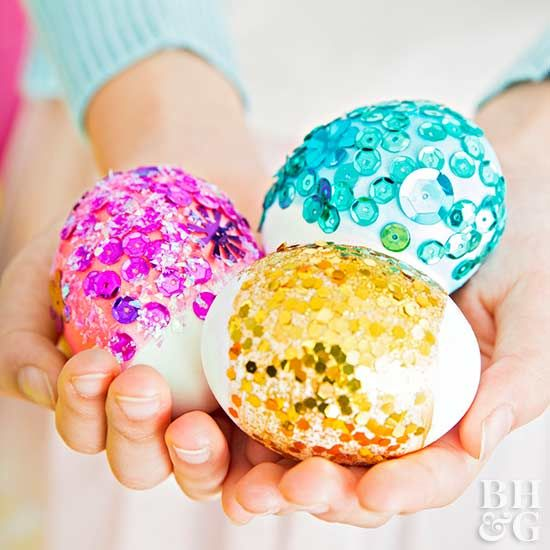 Try one of our no-dye Easter egg decorating ideas to create beautiful eggs without the mess!