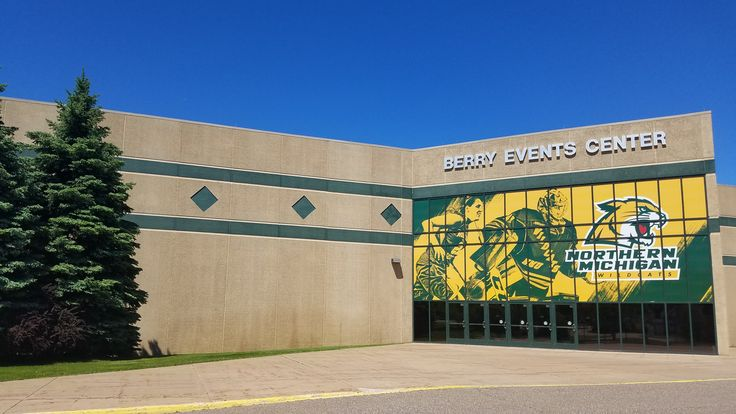 Did you know? NMU Rec Sports is connected to the Berry Events Center. Northern Michigan University hosts major events here, including Wildcat hockey and men's and women's basketball.