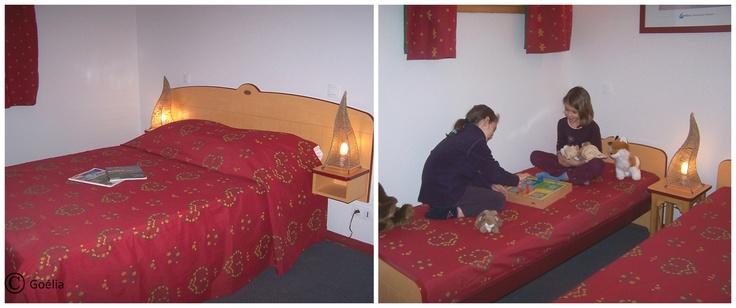 Un exemple de chambre de la résidence les 4 Vallées