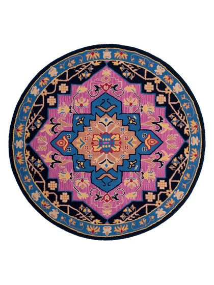 33 Best Images About Rugs Round On Pinterest Peacocks