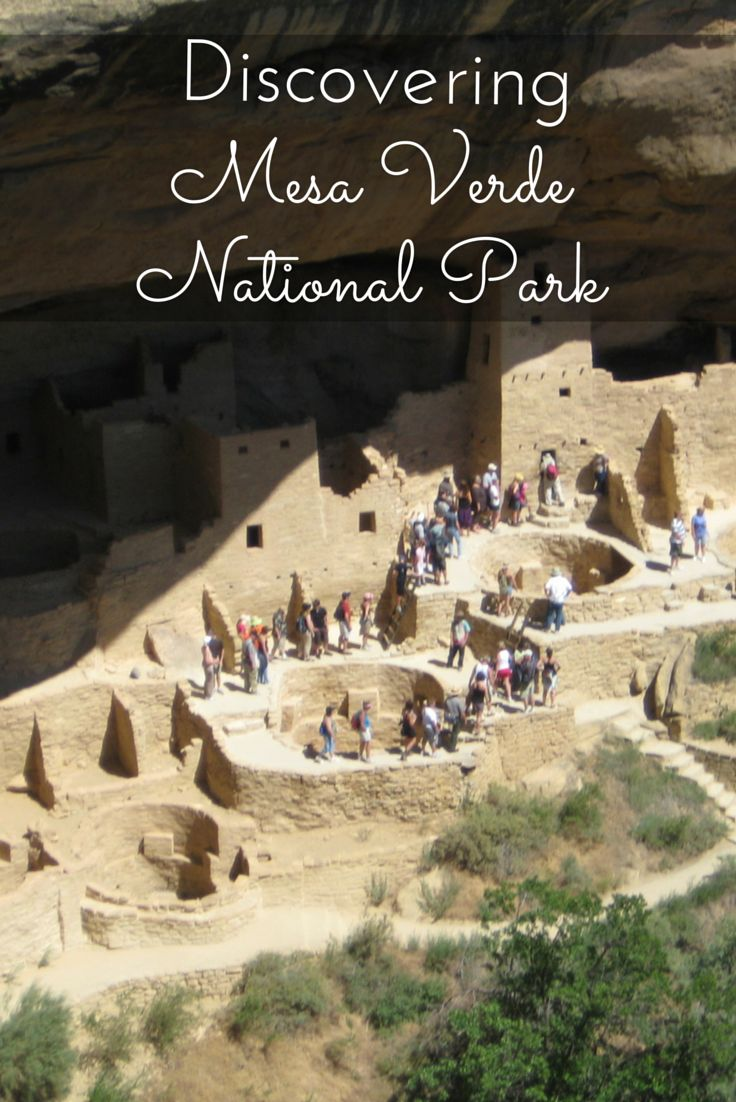 Mesa Verde National Park is in southern Colorado. It has one of the best cliff dwellings in the Southwest with over 600 cliff dwellings to see.