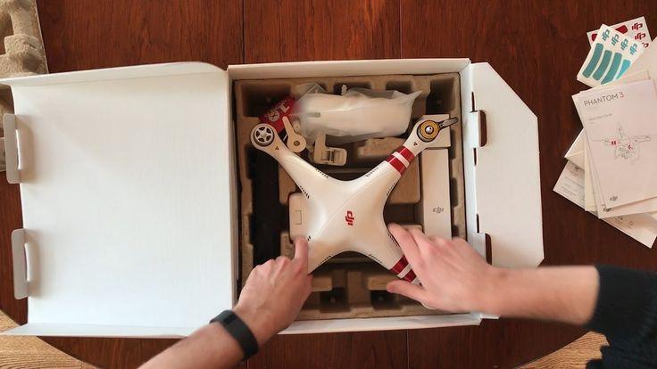 DJI Phantom 3 Standard Drone Unboxing + Setup!!!