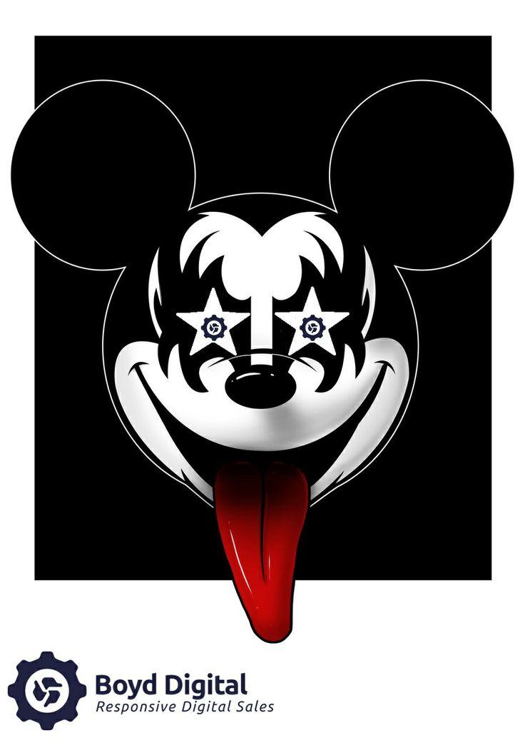 Kiss meet Mickey Mouse meet Boyd Digital