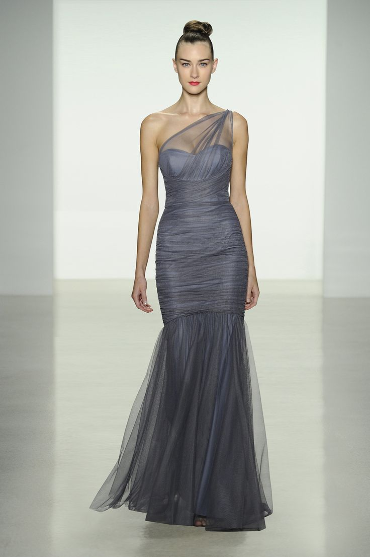 Amsale Fall 2014 Bridesmaid Dresses Dresses Wedding Periwinkle