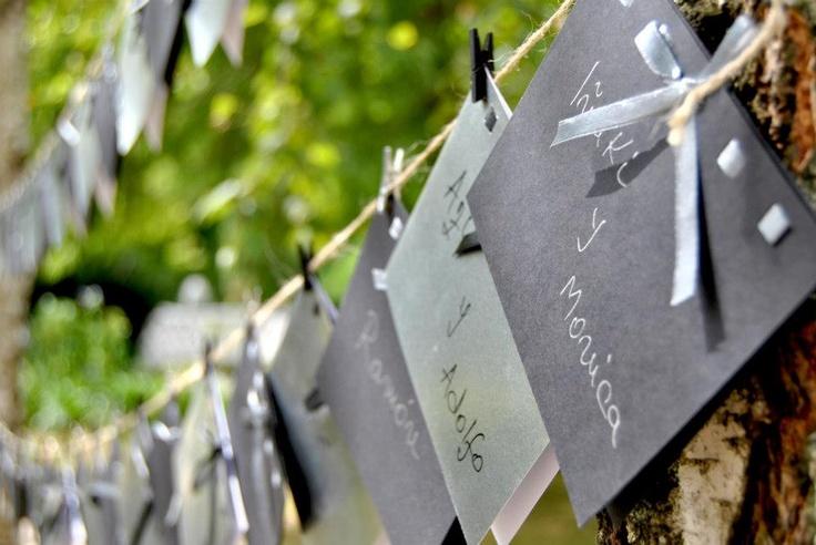 Detalle decoración jardín, bodas Casa Setién