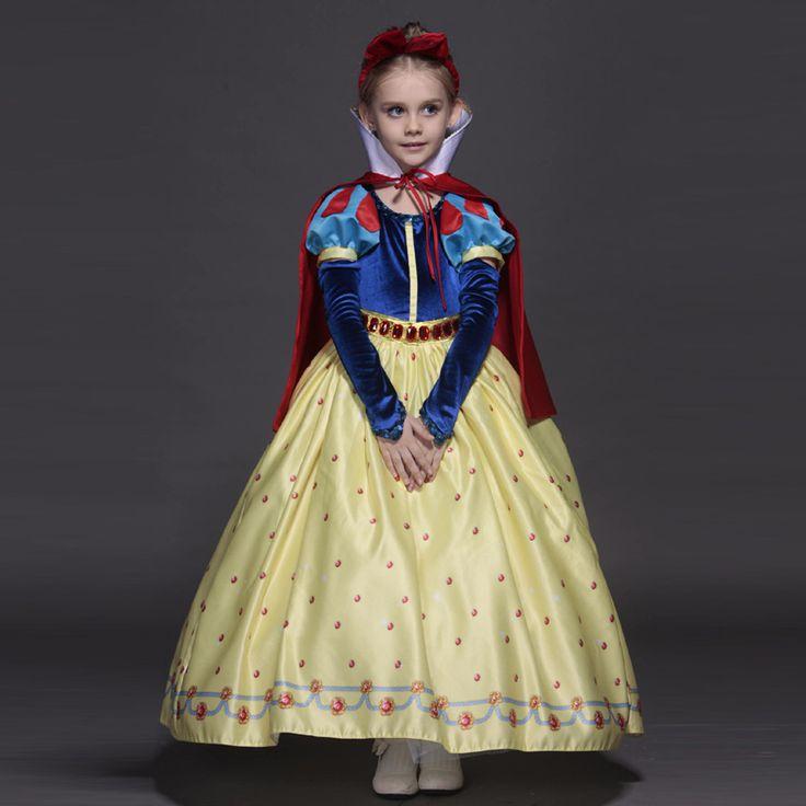 Alta qualidade vestido de princesa sofia para meninas branca de neve Cosplay festa de natal tutu vestidos em Vestidos de Mãe & Kids no AliExpress.com | Alibaba Group