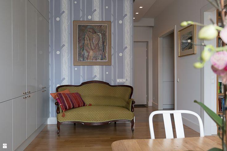 Mieszkanie na Solcu w Warszawie - zdjęcie od Jacek Tryc-wnętrza - Salon - Styl Klasyczny - Jacek Tryc-wnętrza