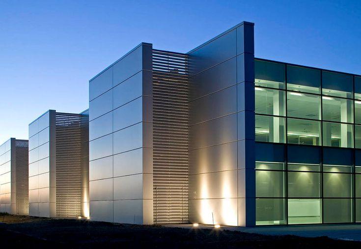 Bardage en aluminium / en composite / lisse / à cassette TECHNOLOGY PARK HUESCA ALUCOBOND