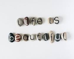 piedras pintadas de jardín - Buscar con Google: 15 Magnets, Magnets Letters, Beaches Pebble, Quotes Beaches, Life Is Beauty, Sea Stones, Letters Rocks Magnets, Inspiration Word, Custom Quotes