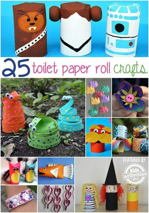 17 best images about lavoretti per bambini on pinterest for Things to make with toilet paper rolls