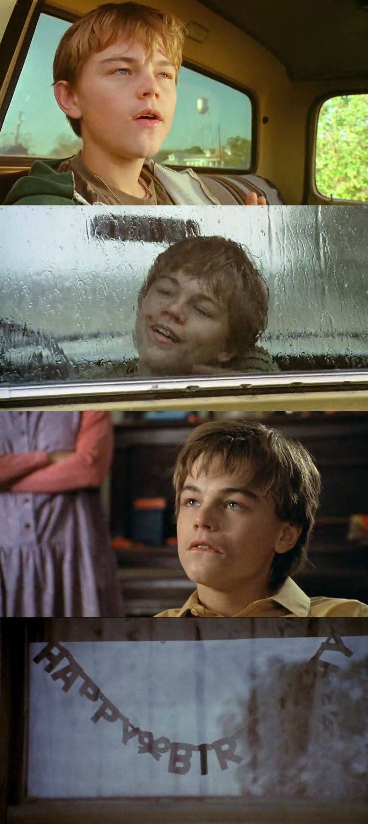 """Leonardo DiCaprio as """"Arnie"""" in What's Eating Gilbert Grape (1993). One of the best movies I have ever watched."""