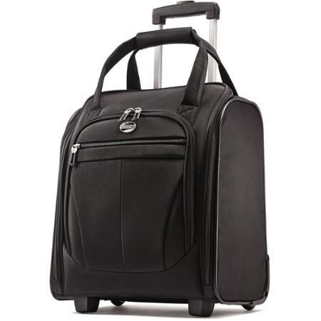 Bag American Tourister Atmosphera II Overnight Tote Black - Luggage