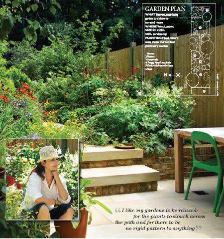 Small Garden Design - a plant lover's paradise