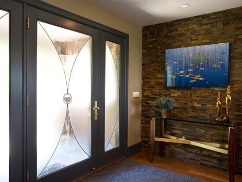 Foyer Entrance News : Foyer wall decorating ideas stone for