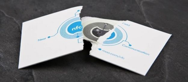 Moo adds 'third side' to business cards with embedded NFC chips