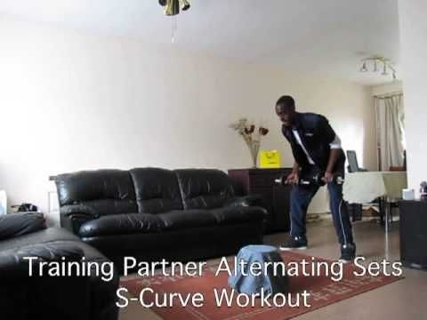 Training Partner Alternating Sets S-Curve Workout (Part 1) - YouTube