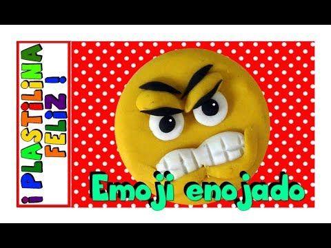 Aquí aprenderás paso a paso como hacer al emoji enojado en plastilina. Es una de las figuras de plastilina más fáciles. Puedes hacer también este emoji  en play doh, porcelanicron o porcelana fría.