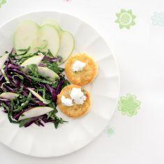 Schiacciate di tofu burmese con insalatina - Tutte le ricette dalla A alla Z - Cucina Naturale - Ricette, Menu, Diete