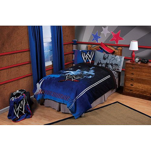 visit the wwe shop for a variety of wrestling home decor bedding wwe merchandise and lots more also check the coupons page for any wwe coupons john cena - Wrestling Bedroom Decor
