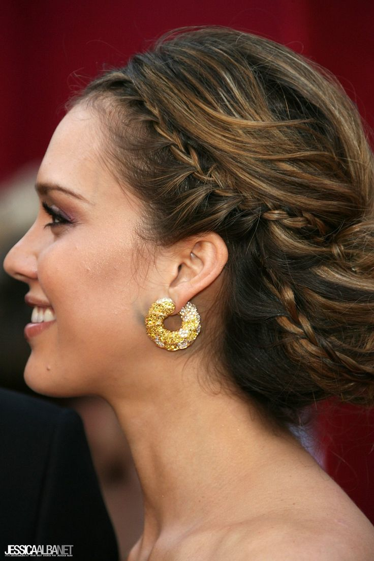 Jessica Alba Updo Hairstyles 17 Best Images About Face Jessica Alba On Pinterest Colors
