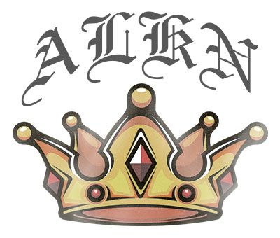 Five Point Crown Tattoo