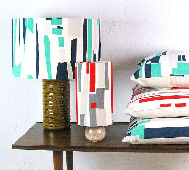 Tamasyn Gambell | Topsy Turvy Cushions + Lampshades | www.tamasyngambell.com