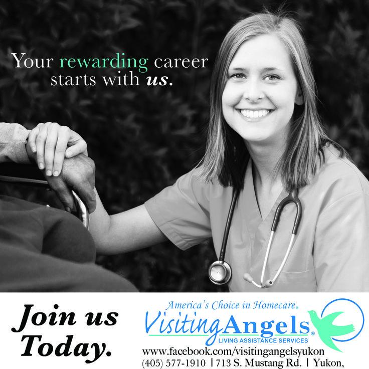 homehealth careers yukon visitingangels oklahoma www