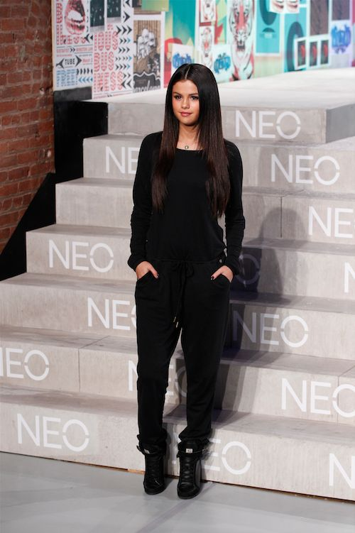 13 Times Selena Gomez Slayed The Red Carpet- When she rocked a velour jumpsuit and made you actually want to buy a velour jumpsuit:    1