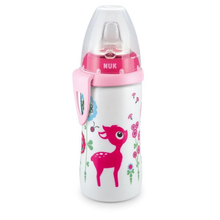 Cute nuk girl bottle