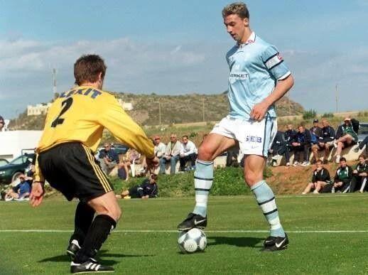Pierwszym klubem piłkarskim Szweda było Malmo FF • Tak wyglądał Zlatan Ibrahimovic na początku swojej wielkiej kariery • Zobacz >> #zlatan #ibrahimovic #football #soccer #sports #pilkanozna