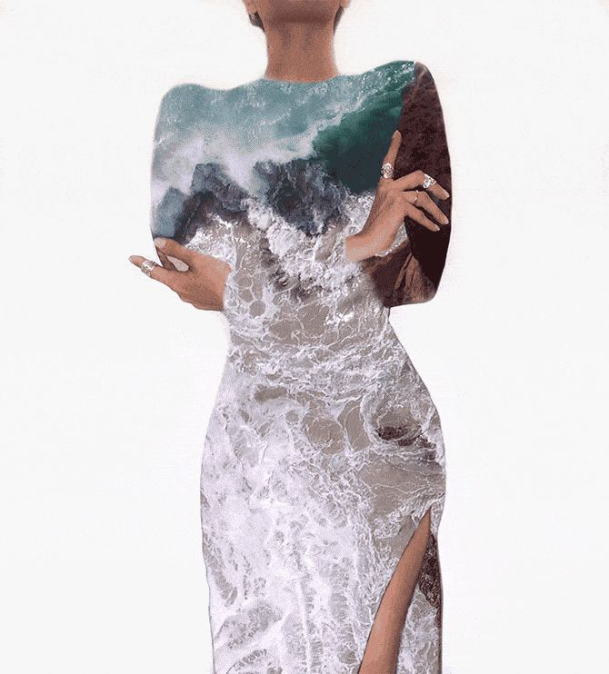 Du brauchst eine kurze Auszeit vom Büroalltag? Unser kleines Ablenkungsmanöver: Diese GIFs versüßen dir die wohlverdiente Pause.  #hallobüro #animation #animatedgif #art #silhouette #woman #sea #keeplearning